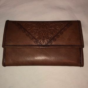 Beautiful leather wallet